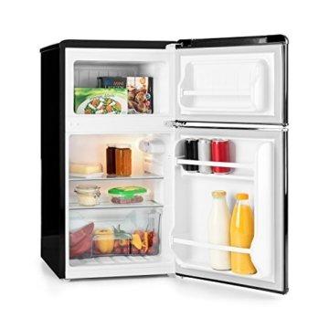 Klarstein Monroe Retro Mini Kühl- und Gefrierkombination